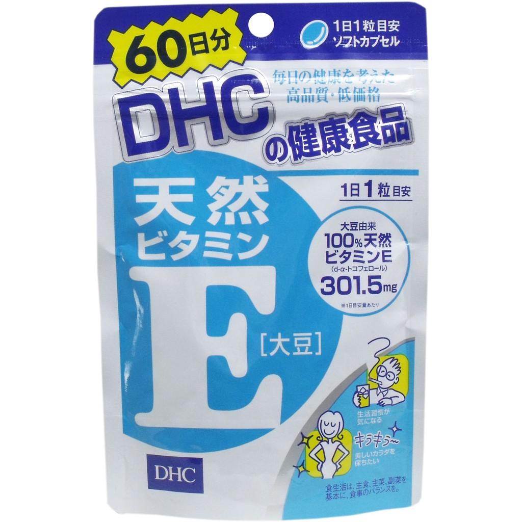[hàng air - Date t12/20] Viên uống bổ sung vitamin E tự nhiên ( túi 60v ) trong 60 ngày