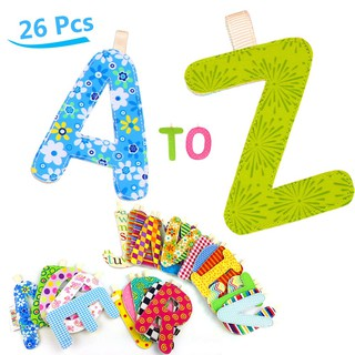 26pcs letter the hanging cognitive card multi-function card early education cognitive toys