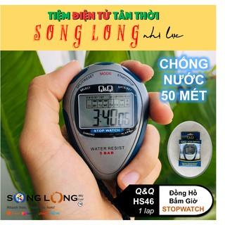 Đồng Hồ Bấm giờ Q&Q HS46 – 1 lap – Chống thấm nước đến 50 met, Chuyên dùng trong Thể Thao – Đồng Hồ Q&Q Chính Hãng