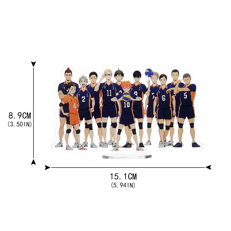 Mô Hình Nhân Vật Haikyuu Anime Nhật Bản 15cm