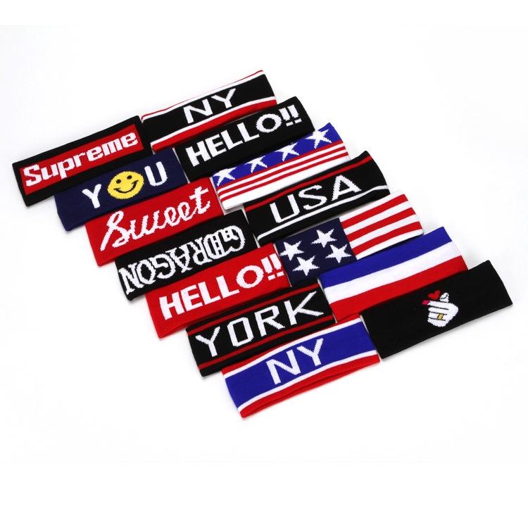 Băng đô dệt kim cao cấp thấm mồ hôi, Headband thời trang BST, Kpop, Cpop TB09 (Chọn mẫu)