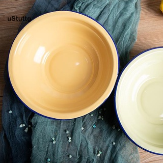 Bát ăn súp tráng men đa năng phong cách vintage cho nhà bếp - hình 3