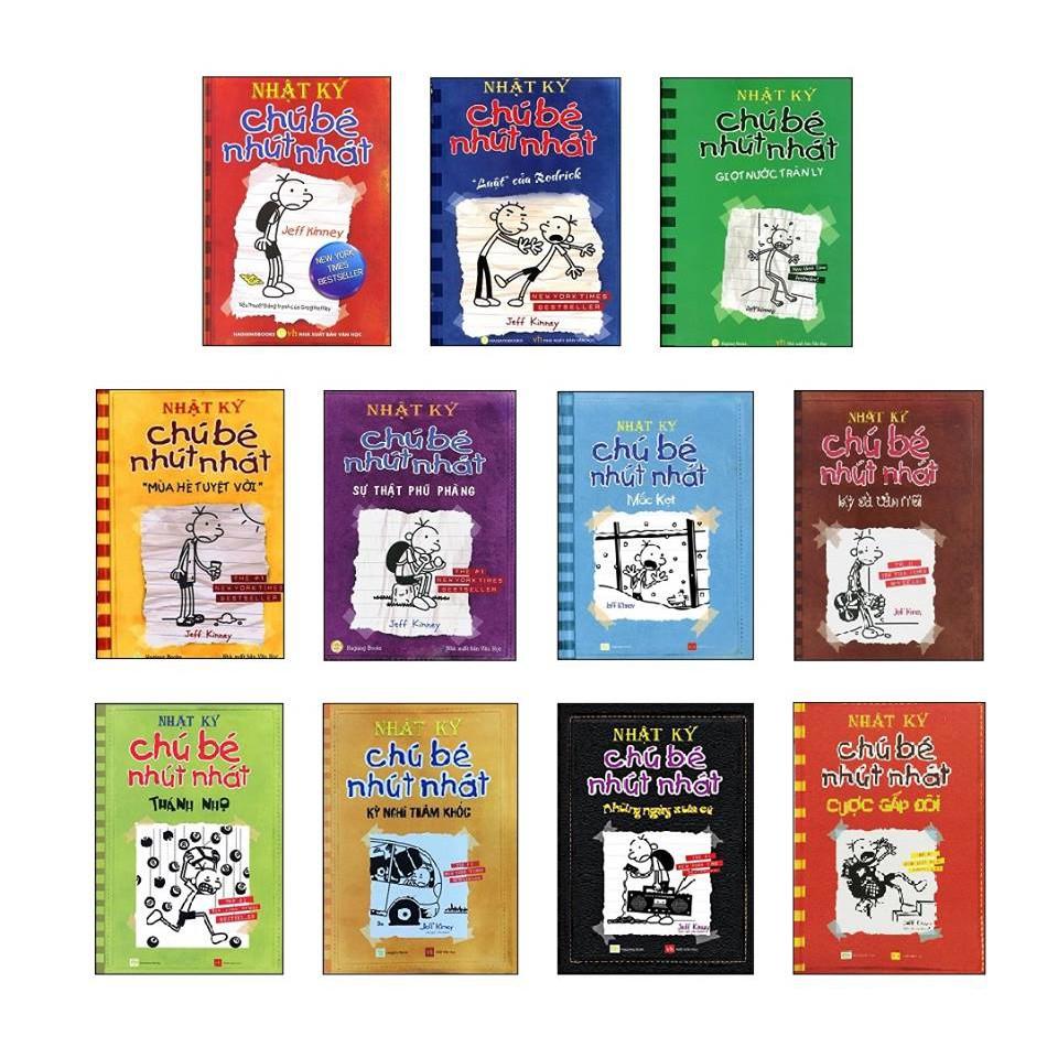 Sách - Nhật ký chú bé nhút nhát (trọn bộ 11 tập tái bản 2018)