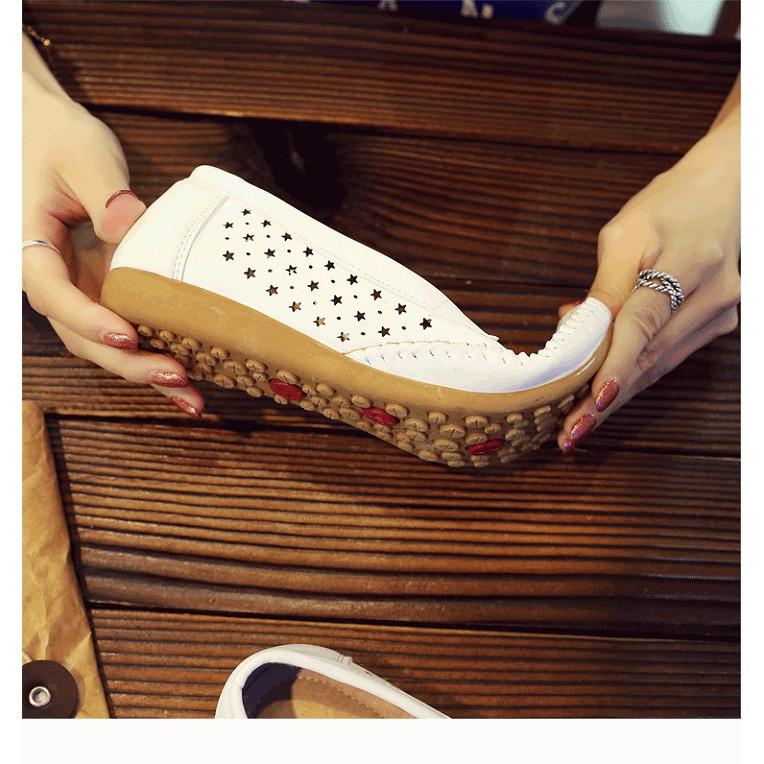 Giày Lười Da Nữ Thời Trang Cao Cấp (SP34)