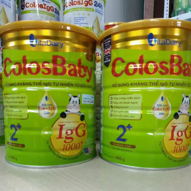 Sữa bột COLOSBABY GOLD 1000IgG 2 800G #2