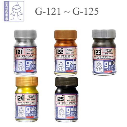 Sơn Gaia Metalic G121 - G125