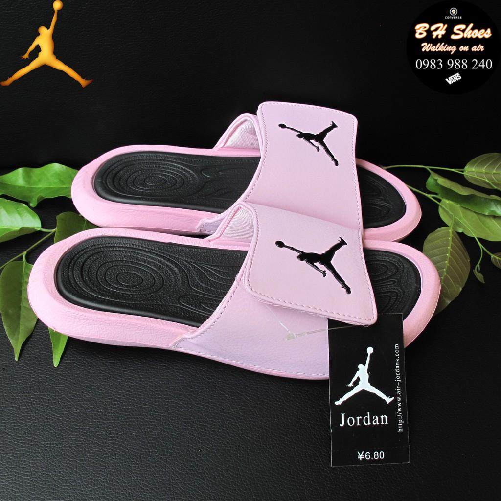 [Size 39-40] Dép Jordan JD bóng rổ quai ngang dán nam nữ cao cấp đầy đủ nhãn mác, bao bì.