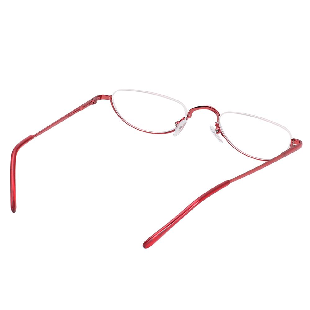 YVETTE Unisex Reading Glasses Magnifying Vision Care Eyeglasses Flexible Portable Ultra Light Resin New Fashion Eye wear Spring Hinge Metal...