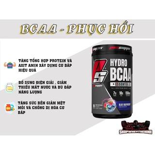 HYDRO BCAA - Phuc hồi và phát triển cơ bắp vượt trội ( 90 lần dùng ) thumbnail