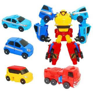 Robot Lắp Ráp Xe Tobot Deformation 4in1