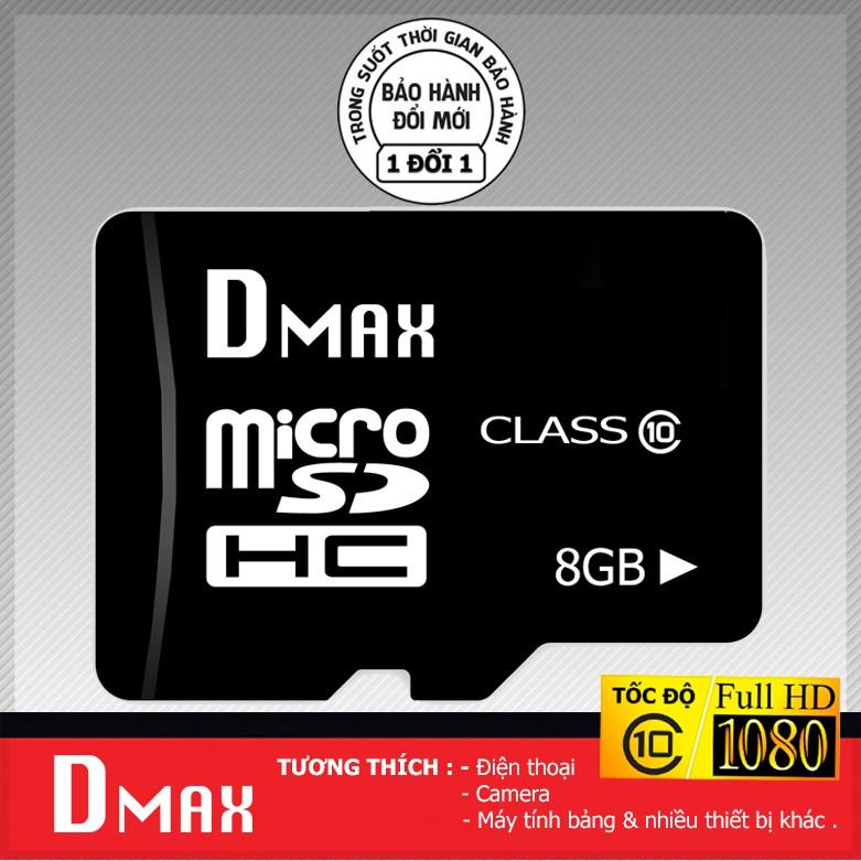 Thẻ nhớ 8GB micro SDHC Dmax class 10 - Bảo hành 5 năm đổi mới - 2704970 , 1213991396 , 322_1213991396 , 109000 , The-nho-8GB-micro-SDHC-Dmax-class-10-Bao-hanh-5-nam-doi-moi-322_1213991396 , shopee.vn , Thẻ nhớ 8GB micro SDHC Dmax class 10 - Bảo hành 5 năm đổi mới