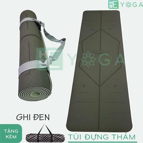 Thảm Tập Yoga TPE định tuyến 6mm 2 lớp màu Xám ghi + túi đựng thảm - 3537325 , 1037905198 , 322_1037905198 , 600000 , Tham-Tap-Yoga-TPE-dinh-tuyen-6mm-2-lop-mau-Xam-ghi-tui-dung-tham-322_1037905198 , shopee.vn , Thảm Tập Yoga TPE định tuyến 6mm 2 lớp màu Xám ghi + túi đựng thảm