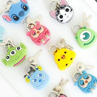Ổ khóa mini hình thú dễ thương khóa balo vali đồ dùng cá nhân - 3N.HCM thumbnail