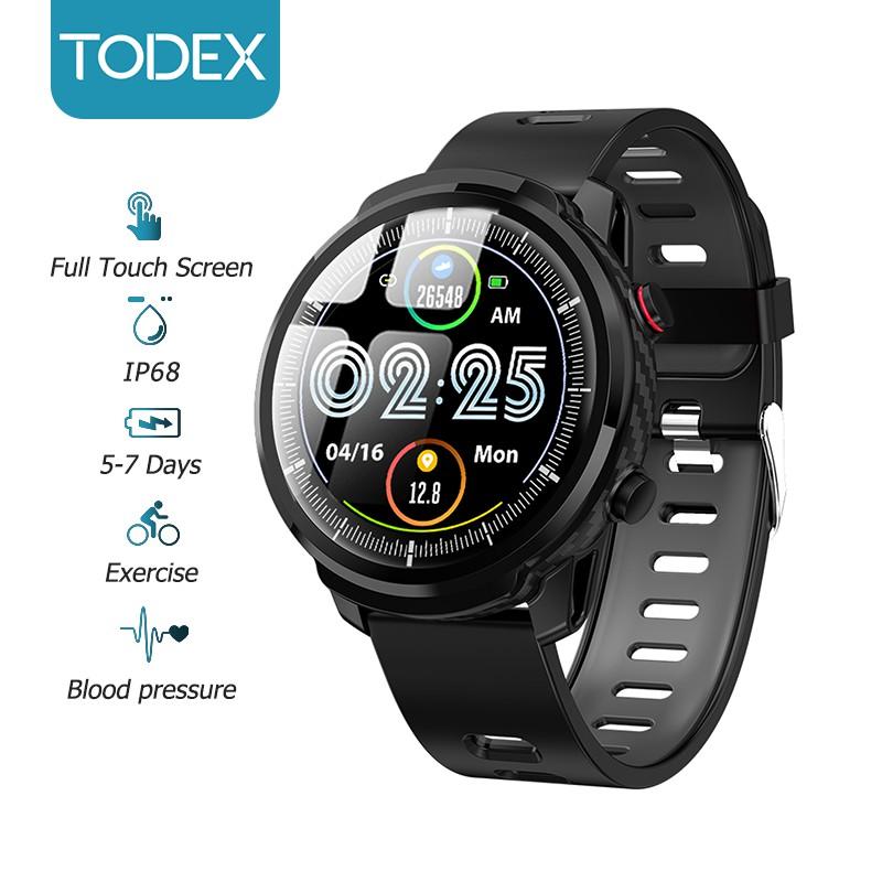 Đồng Hồ Thông Minh TODEX S10 Plus Chống Nước IP68 Toàn Màn Hình Chế Độ Chờ Lâu Cho Ios Android