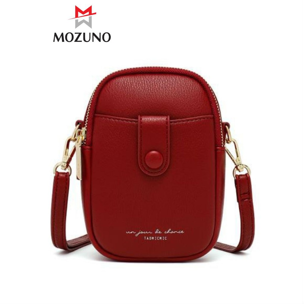 Túi Đeo Chéo Nữ Chính Hãng TAOMICMIC Chất Da Cấp Nhiều Ngăn Đựng Điện Thoại Trẻ Trung Cực Đẹp TM33 - Mozuno