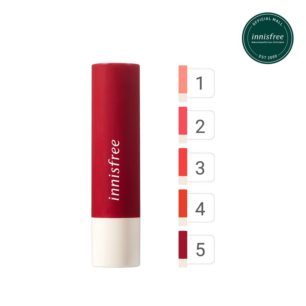Son dưỡng có màu innisfree Glow Tint Lip Balm 3.5g