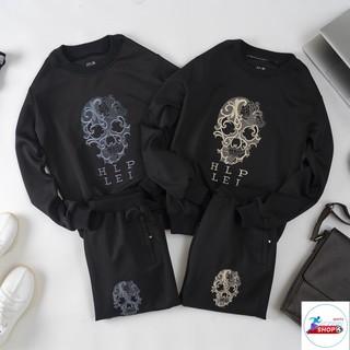 Bộ thể thao chất liệu vải Umi cao cấp hình thêu đẹp mắt phom 40-75kg – kynn shop