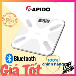 [ BLUETOOTH ] Cân Điện Tử Có Kết Nối Bluetooth, Có Áp Trên Điện Thoại Rapido RSB03-S