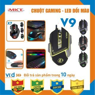 Phi m chuô t, Chuột chuyên Gaming không dây, có dây iMICE (V9, X7, X8) Apedra A7 , A9 , X6 Độ nhạy max 3200 DPI thumbnail