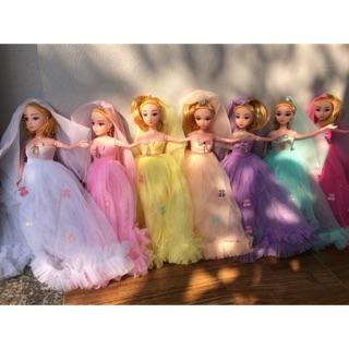 Búp bê cô dâu 7 màu