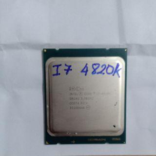 Intel Core I7 4820K Ivy Bridge Dòng K cao cấp