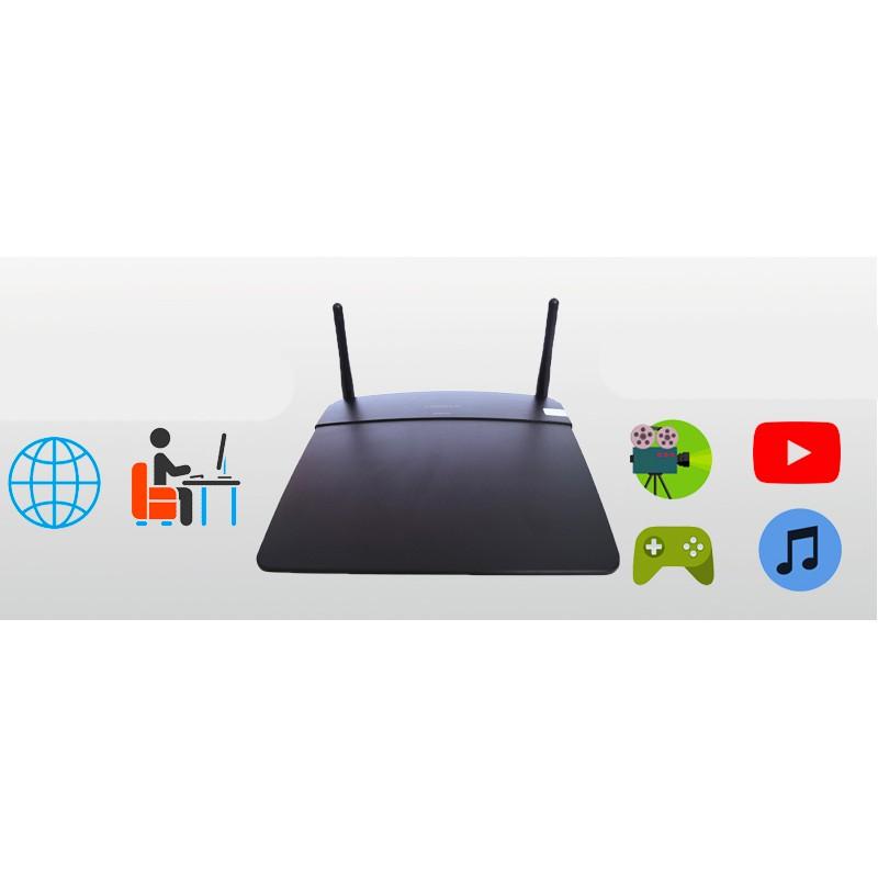 [Mã 267ELSALE hoàn 7% đơn 300K] Bộ phát wifi, thiết bị phát wifi chuẩn N Linksys E2750