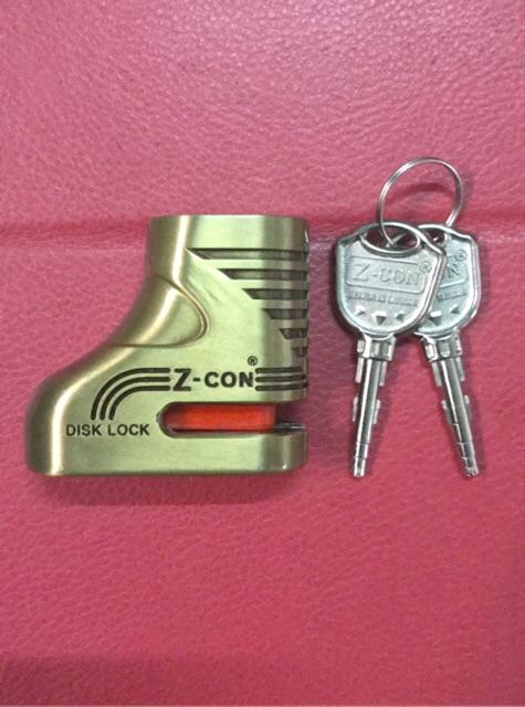Ổ khoá đĩa xe máy Z-Con chống trộm