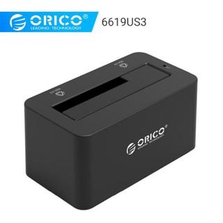 Dock Cắm Ổ Cứng Orico 6619US3 USB 3.0 Cho Ổ Cứng 2,5 và 3.5 - Hàng Chính Hãng Bảo Hành 12 Tháng thumbnail
