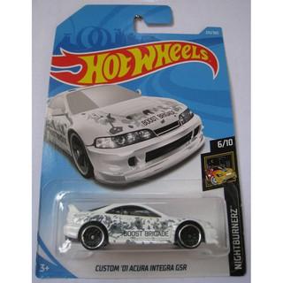 Xe mô hình Hot Wheels Custom '01 Acura Integra GSR FJY99