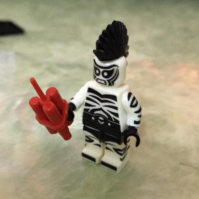 Minifigure nhân vật Zebra Man