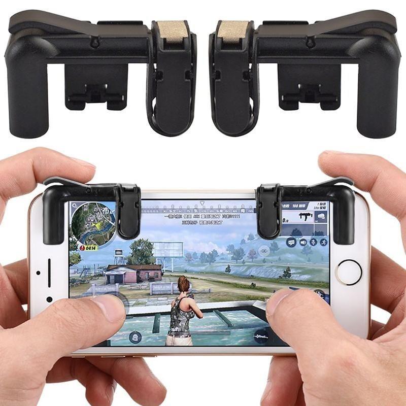 Bộ 2 Nút Bấm Chơi Game PUBG Dòng C9 Hỗ Trợ Chơi Pubg Mobile, Ros Mobile Trên Mobile