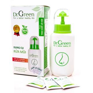 [Tặng 10 gói muối biển khô] Bình rửa mũi DR.Green