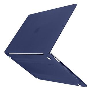 Ốp Laptop Batianda Cho Apple Macbook Air 13 2020 A2179 11 Pro 13 15 Inch Retina 12 Màu Xanh Navy Bề Mặt Nhám