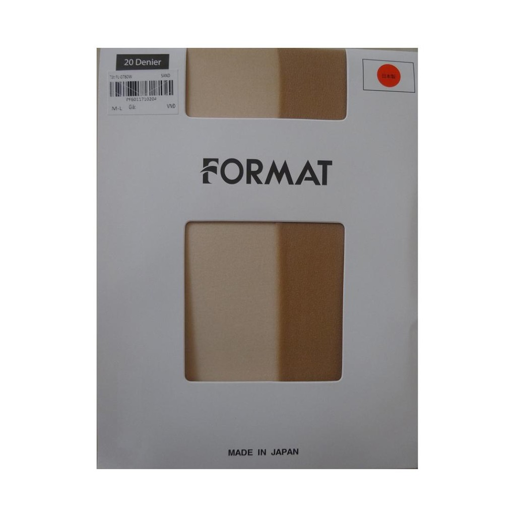Quần tất cao cấp Format L-0780W chống xước, mỏng, dai, thật chân