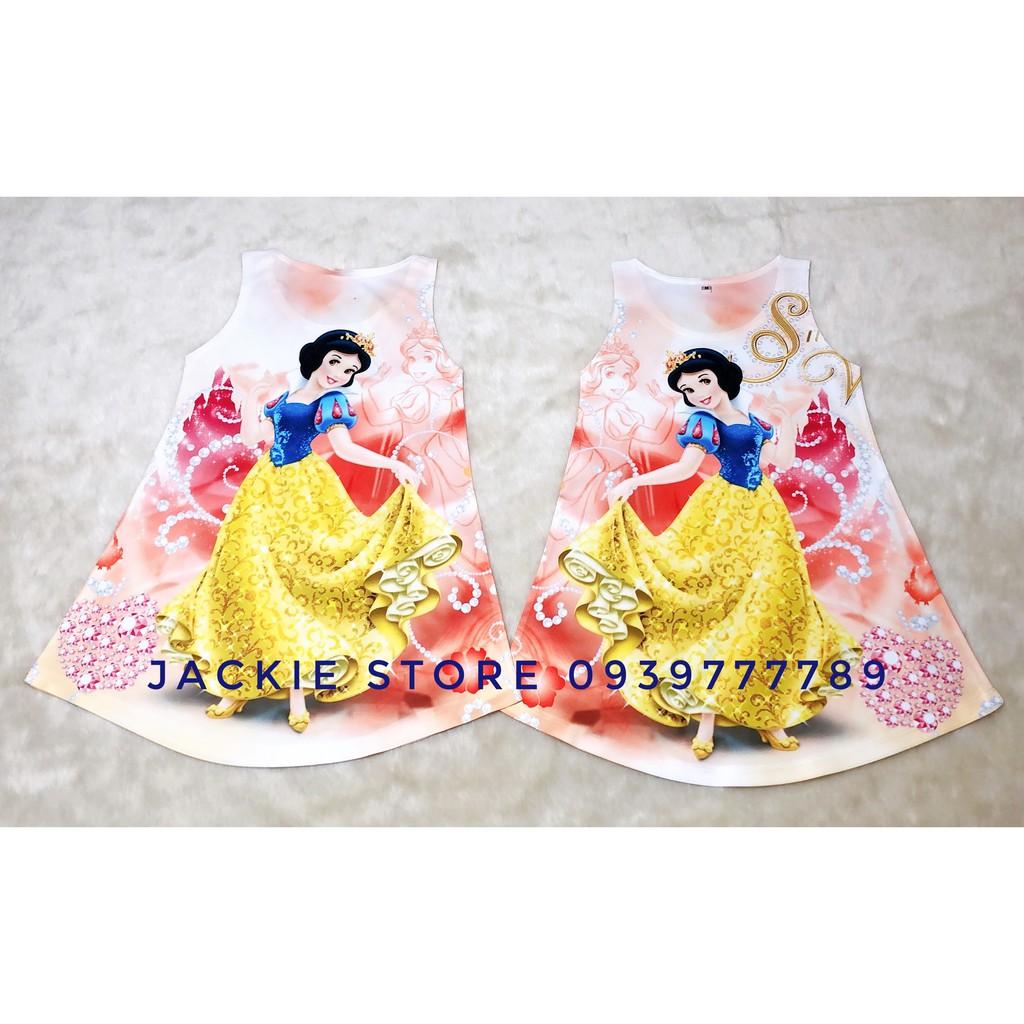 Váy Công chúa Bạch Tuyết
