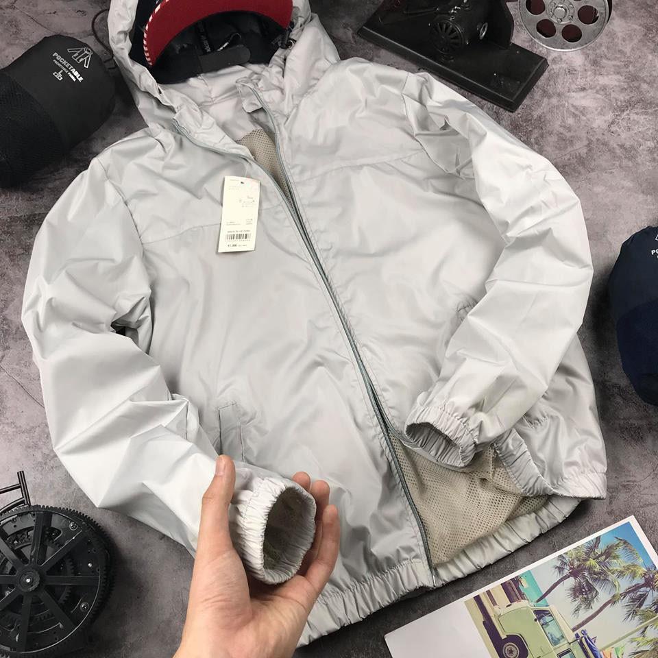 Áo gió nam áo khoác chống nắng mưa tiện lợi cho nam