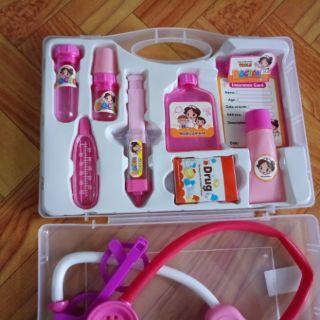 bộ đồ chơi bác sĩ cho bé có hộp đựng 01