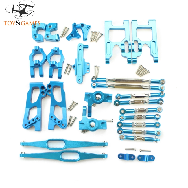 Upgrade Metal Parts Kit for Feiyue FY03 WLtoys 12428 1/12 RC Buggy Car Parts