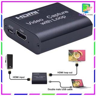 Capture Card Live Truyền Hình Ảnh Video Trực Tiếp USB Sang HDMI [ Live Stream ]
