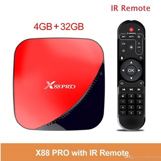 Yêu ThíchAndroid TV Box X88 PRO Ram 4GB Rom 32GB RK3318 Android 9.0 - X88 PRO 4+32G