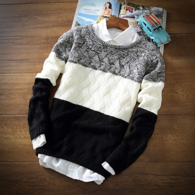 Áo len nam phong cách Hàn Quốc