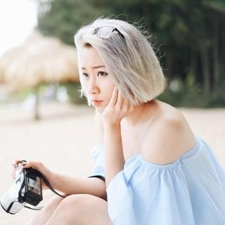 thuốc nhuộm tóc màu bạch kim+tặng kèm oxy trợ dưỡng thumbnail