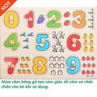 [ẢNH TỰ CHỤP] – Bảng 10 số tập đếm cho bé 020 có núm