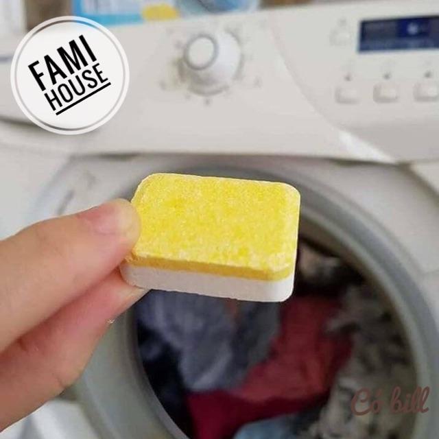 [Có bill] Viên tẩy lồng máy giặt DENKMIT ĐỨC chính hãng