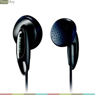 [Mã ELFLASH5 giảm 20K đơn 50K] Tai nghe siêu nhỏ gọn, trọng lượng nhẹ, giắc cắm 3.5m Philips SHE1350 / SHE3010