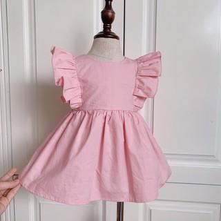 Váy cho bé gái từ 1 - 8 tuổi, đầm thời trang trẻ em hàng thiết kế cao cấp VNXK cho bé từ 6- 32 kg (v20)