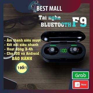 [Mã ELORDER5 giảm 10K đơn 20K] Tai Nghe Không Dây Bluooth 5.0 AMOI F9 TWS, Chuyên Gaming cho Iphone và Android, Quốc Tế