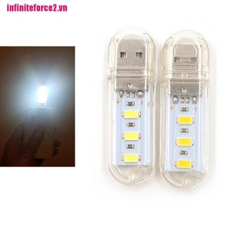 [IN*VN2]Mini USB LED Night light Camping lamp For Reading Bulb Laptops Computer