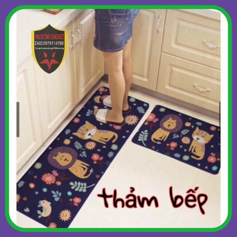 Bộ thảm bếp sang trọng (Gồm 2 tấm)
