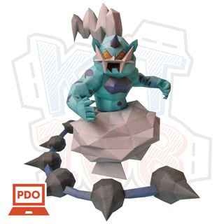 Mô hình giấy Pokemon Thundurus